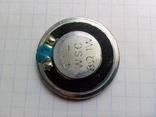 Динамик для металлоискателя 8 Ом. 1 W диаметром 30 мм.