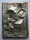 """Старинная икона """"Благовещение Пресвятой Богородицы"""". photo 11"""