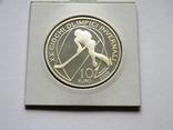 10 ЕВРО ''Олимпиада в Турине'', 2005г., Серебро 925 пробы, 22,05 грамма., фото №2