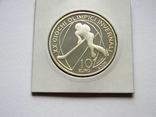 10 ЕВРО ''Олимпиада в Турине'', 2005г., Серебро 925 пробы, 22,05 грамма., фото №3