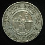 ЮАР 2 шиллинга 1896 серебро photo 1