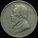 ЮАР 2 шиллинга 1896 серебро photo 2