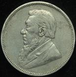 ЮАР 2 шиллинга 1896 серебро photo 3