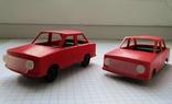 Машинка легковая СССР сохран + 1 на запчасти photo 3