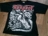 Respect - черная футболка разм.XL
