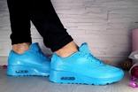 Женские Кроссовки Nike Голубые 10196 Размер 36 photo 5