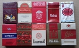 Коллекция сигарет 63 пачки photo 32