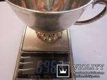 Изящная кружечка серебро 925, 69,63 грамм