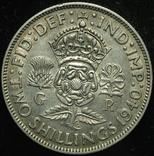 Великобритания флорин 1940 серебро photo 1