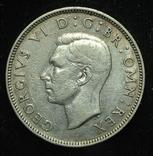 Великобритания флорин 1940 серебро photo 2
