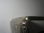 Портсигар серебро 84 чернение позолота photo 18