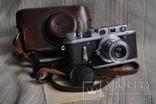 Зоркий-2, № 207 , Индустар-50 , 1954 года, первый, начало выпуска. photo 1