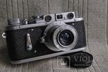 Зоркий-2, № 207 , Индустар-50 , 1954 года, первый, начало выпуска. photo 5