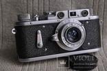 Зоркий-2, № 207 , Индустар-50 , 1954 года, первый, начало выпуска. photo 10