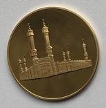 Монетовидный сувенир Саудовская Аравия Халид photo 2