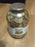 Банка денег, мелочи, гривен, монет., фото №4