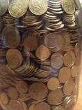 Банка денег, мелочи, гривен, монет., фото №2