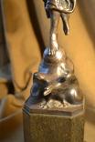 Статуэтка. Металл, камень. Высота 54 см. photo 16