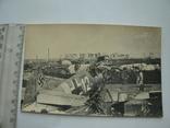 Старое военное фото немецкого самолёта Аэродром Крым фотокор. Семянников Ф.И.
