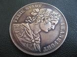 Франкфурт 1 талер 1860 г. Серебро photo 6