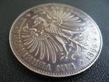 Франкфурт 1 талер 1860 г. Серебро photo 12