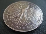 Франкфурт 1 талер 1860 г. Серебро photo 13