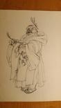 10 театральних ескізів Орлова Г.М. олівцем photo 3