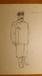 10 театральних ескізів Орлова Г.М. олівцем photo 5