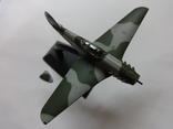 Модель самолета истребитель-бомбардировщик ЯК - 9 на запчасти или под восстановление, фото №3