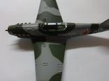 Модель самолета истребитель-бомбардировщик ЯК - 9 на запчасти или под восстановление, фото №9