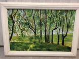 Картина лесной пейзаж художник А.Федяев