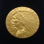 5 долларов 1912 г США золото 8,35 грамм