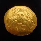 Гистаменон Михаила Византия золото 3,23 грамма