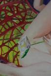 Девушка гимнастка и её цветочек. photo 3