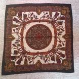 Винтажный шелковый платок Hermes