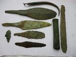 Ножи бронза + набор для шитья