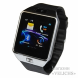 Смарт часы Smart Watch DZ09 Silver photo 9