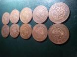10 монет часів останнього царя Російської імперії