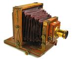 Фотоаппарат деревянный, старинный, Англия. photo 1