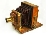 Фотоаппарат деревянный, старинный, Англия. photo 2