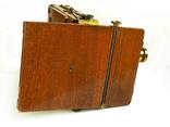 Фотоаппарат деревянный, старинный, Англия. photo 4
