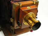 Фотоаппарат деревянный, старинный, Англия. photo 5