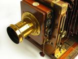 Фотоаппарат деревянный, старинный, Англия. photo 7