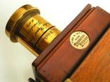 Фотоаппарат деревянный, старинный, Англия. photo 8