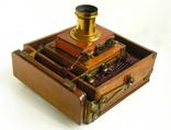 Фотоаппарат деревянный, старинный, Англия. photo 11