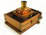 Фотоаппарат деревянный, старинный, Англия. photo 12