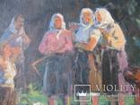 """Эскиз к картине """"Шутка"""" худ.Петухов В.А.1956 г. photo 7"""