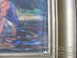 """Эскиз к картине """"Шутка"""" худ.Петухов В.А.1956 г. photo 11"""