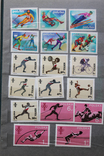 """Альбом марок """"Мировой спорт"""" (461шт.) photo 8"""