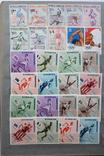 """Альбом марок """"Мировой спорт"""" (461шт.) photo 16"""